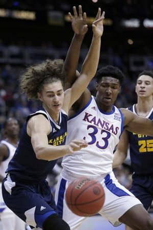 McCormack's 28 points help No. 2 KU rout Kansas City 98-57