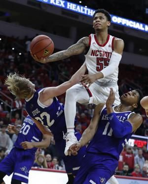 Daniels gets rolling as NC State beats UNC Asheville 100-49