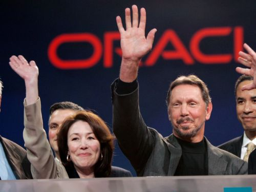 Oracle is set to open at a record high after spiking on strong earnings