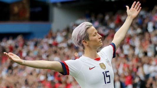 Megan Rapinoe named best women's player, Jill Ellis best coach at FIFA awards