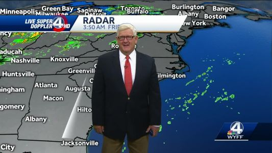 Videocast: Warm, chance of afternoon showers