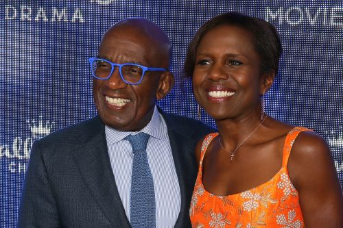 Tamron Hall, Katie Couric, Natalie Morales attend Al Roker's holiday party