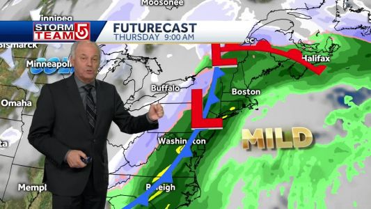 Video: Bitter cold through Tuesday morning, eases midweek