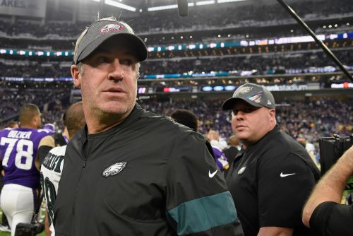 Eagles coach Doug Pederson tests positive for coronavirus