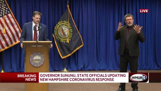 Full video: Gov. Sununu, state officials give update about COVID-19 in state