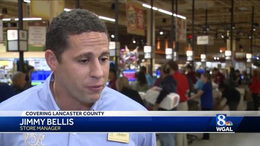 Grand opening for Wegman's in Lancaster draws big crowds
