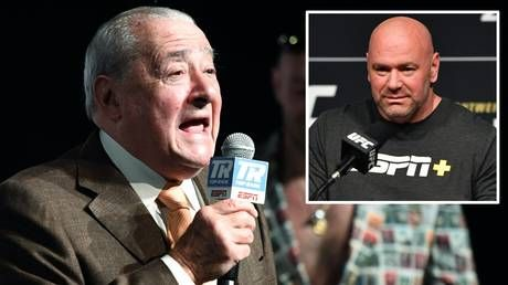 Boxing promoter Bob Arum BLASTS Dana White, saying he 'should be ashamed of himself' for continuing with plans for UFC 249