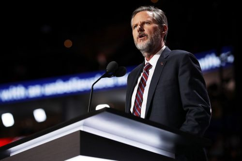 Jerry Falwell Jr. will take 'indefinite leave of absence' from Liberty University after viral photo