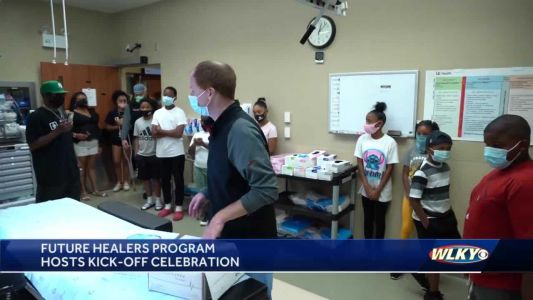 Future Healers program aims to help violence-affected youth learn about the healthcare industry