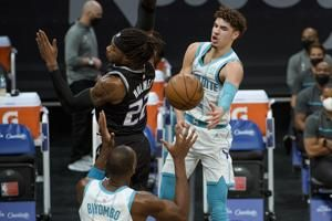 Michael Jordan: LaMelo Ball has 'exceeded our expectations'
