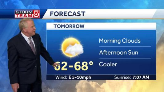 Video: Fog, drizzle possible into early Friday