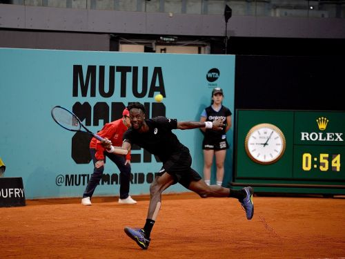 Gael Monfils just scored with a wild shot that's already been dubbed 'the best you'll ever see'