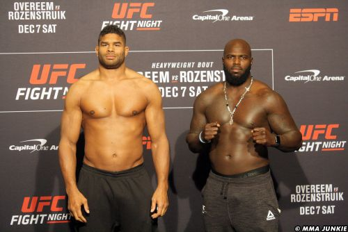 UFC DC preview with Rashad Evans: Overeem-Rozenstruik, Calvillo's weight miss, more