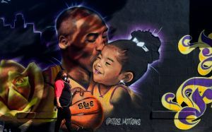 Lakers Legend Kobe Bryant, Daughter Gianna Remembered On One-Year Anniversary Of Tragic Crash
