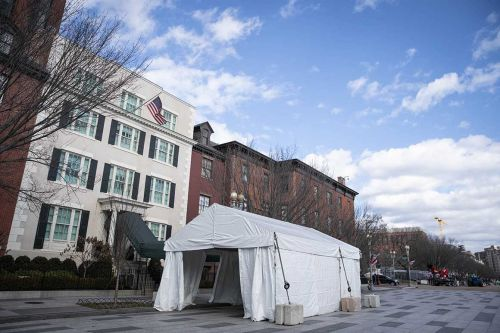 Harris to stay at Blair House while Naval Observatory undergoes maintenance