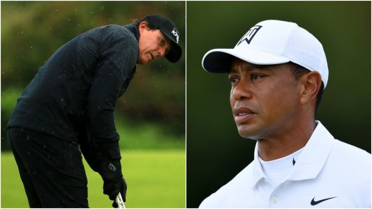 British Open 2019: Tiger Woods, Phil Mickelson miss same major cut for first time