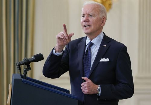 Biden sets goal of 70 percent vaccination by July 4