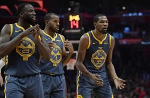 Warriors' Green not apologizing, he and Durant moving on
