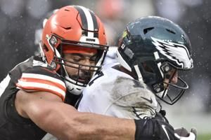 Browns' defense thinned by virus, injuries to face Jaguars