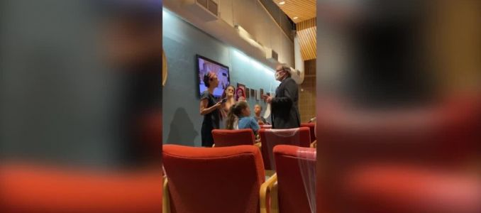 Moms kicked out of Central Florida school board meeting on masks for refusing to wear masks