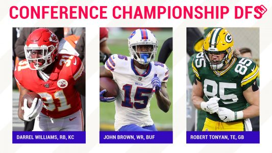 Conference Championship NFL DFS Picks: Best value players, sleepers for DraftKings, FanDuel daily fantasy football lineups