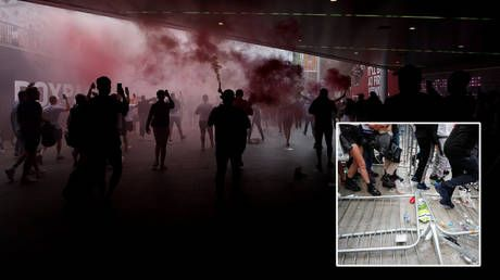 I'm not sorry, says Chelsea fan who put flare in bottom, drank 20 ciders, 'banged a load' of 'powder' & bribed way into Euro final