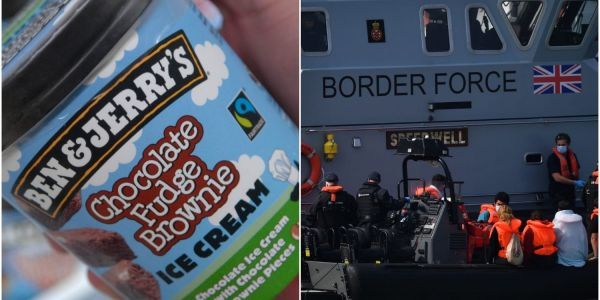 Ben & Jerry's got into a fight with the British government over its 'lack of humanity' towards migrant boat people arriving from France