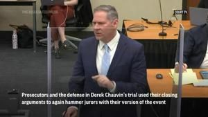 Notable moments during Chauvin trial's closings