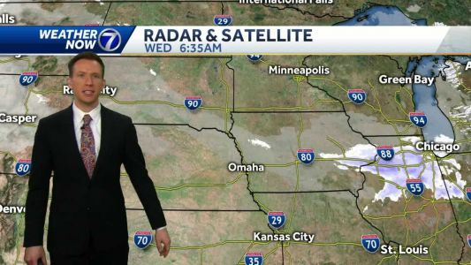 Cold sunshine Wednesday afternoon, warming up later this week