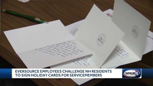 Campaign sends holiday cards to servicemembers