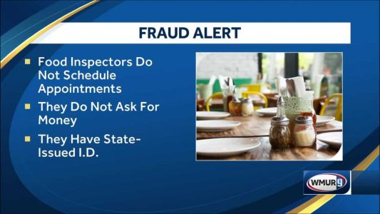 Person has been calling NH restaurants pretending to be health inspector, officials warn
