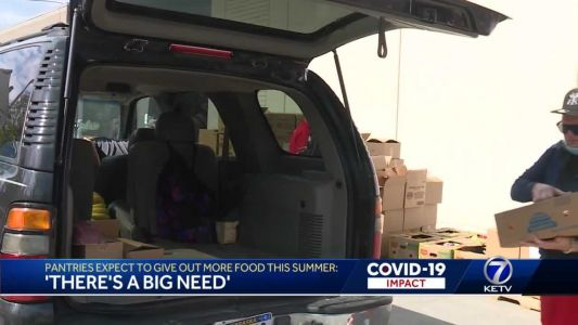 'There's a big need,' Pantry expects the need to increase more over the summer