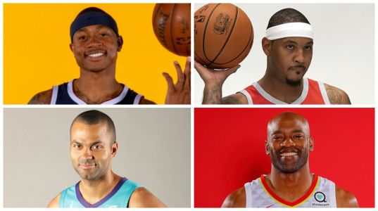 A ton of NBA stars switched teams this summer - here they are in their new uniforms