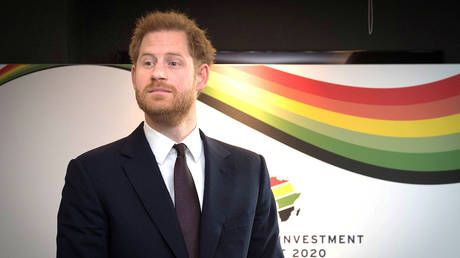 'A bit like royalty': Prince Harry mocked for condemning 'attack on democracy' in US Capitol