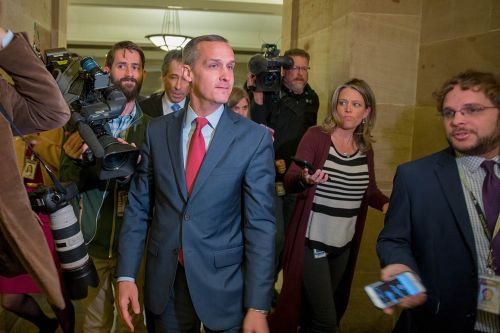 Trump touts potential Lewandowski Senate bid ahead of New Hampshire rally