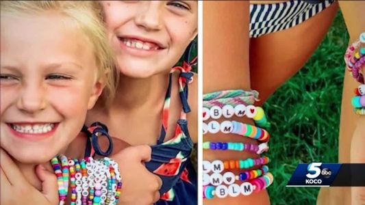 8-year-old girl inspired by Black Lives Matter movement raises money by making bracelets