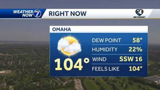 Record heat Thursday afternoon