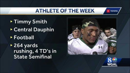 It's WGAL's Athlete of the Week