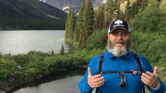 Nick Offerman on why he finds solace in the outdoors