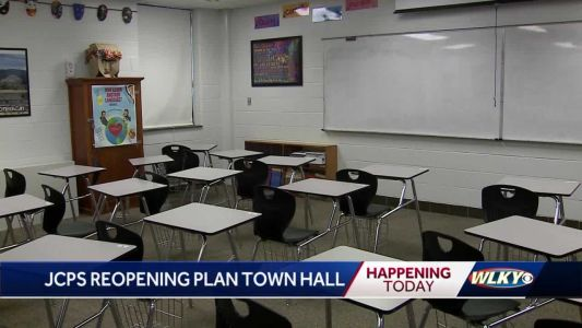 JCPS to hold virtual town hall to discuss return to class