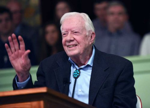 Pastor: Former President Jimmy Carter 'up and walking' post brain surgery