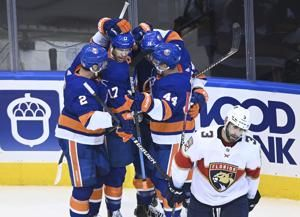 Eberle scores 2 in Islanders' 4-2 win over Panthers