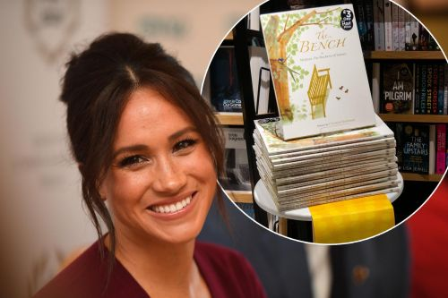 Meghan Markle thanks fans after her book 'The Bench' becomes a best-seller