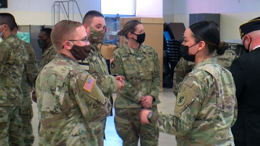 Minnesota Army Reserve Soldiers Prep For Middle East Deployment