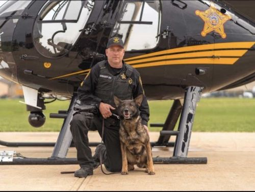 Hamilton County K-9 dies due to complications from illness