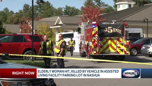 79-year-old woman killed by vehicle in Nashua parking lot