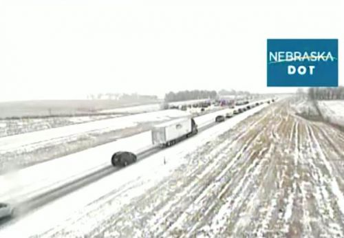 At least 2 dead, 3 critically injured in multi-vehicle crash that closed I-80 Sunday morning