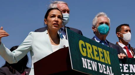 AOC's Green New Deal reintroduced as she claims 'trampling of indigenous rights' & 'racial justice' are causes of climate change
