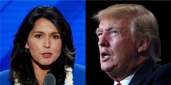 Tulsi Gabbard says Trump is making the US 'Saudi Arabia's b--' with his response to the oil field attacks