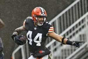 The Latest: Another Browns player tests positive for virus